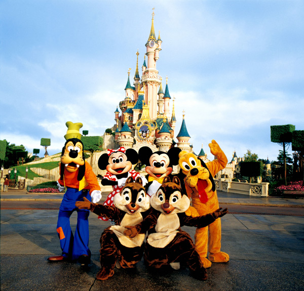 ... at one of the most magical places in the world – Disneyland Paris